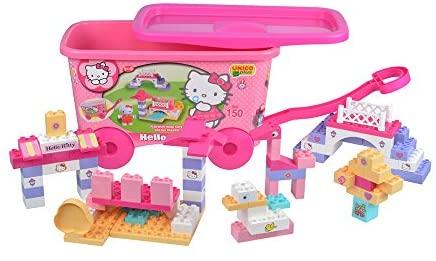 Unico Costruzione Hello Kitty-Carrello 150pz 8673