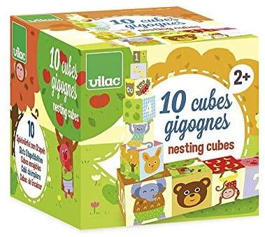 Vilac 4600 - Gioco Prima Infanzia: 10 Cubi Uno Dentro L'Altro