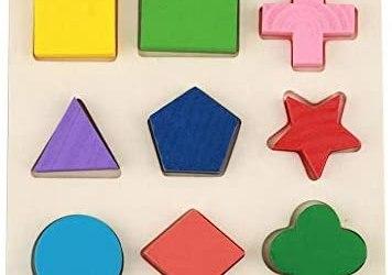 fdit giocattolo geometrico educativo infantile di legno Puzzle giocattoli…