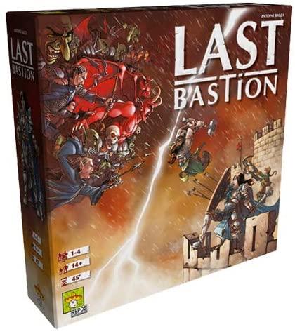 Asmodee Italia- Last Bastion Gioco da Tavolo, Colore, 8411