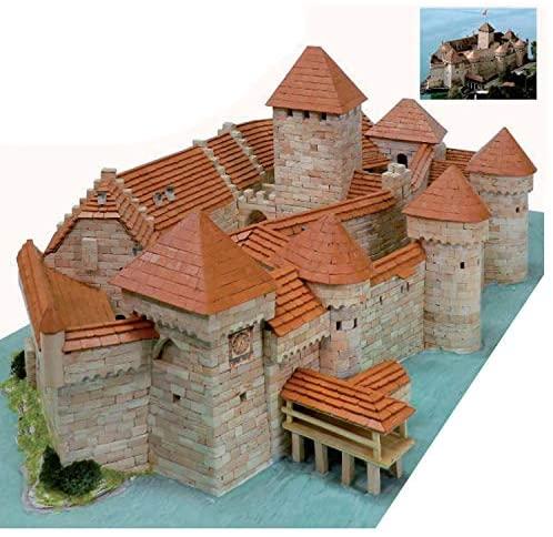 Castello di CHILLON Svizzera Aedes ARS 1012 Mattoni Ceramica Kit di...