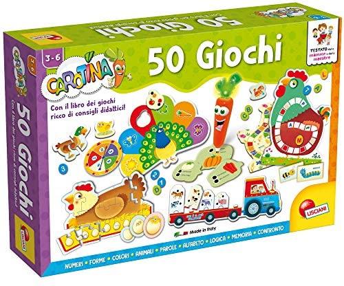 Lisciani Giochi - 76710 Gioco per Bambini Carotina, Penna Parlante, 50...