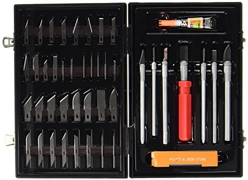 Max-Power Set Coltelli Tagliabalsa + Accessori, per Modellismo e Bricolage...