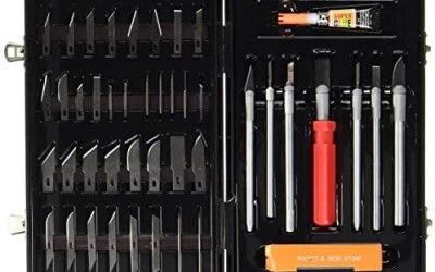 Max-Power Set Coltelli Tagliabalsa + Accessori, per Modellismo e Bricolage…