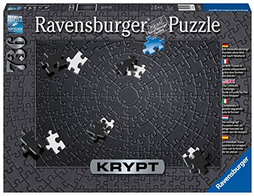 Ravensburger Krypt, Puzzle Monocromo a Spirale per Adulti con Tecnologia...