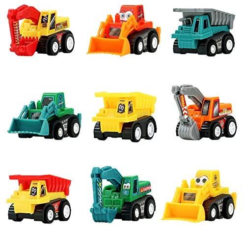 Symiu Macchina Giocattolo Macchinine Set Veicoli Mini Camion Escavatore...
