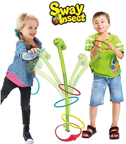 ALLCELE Ring Toss Lancio Set di Gioco ,Toys Quoits Set per Ragazzi e...