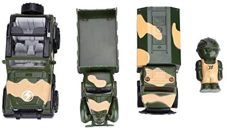 Alta Simulazione Modello Veicolo Militare Giocattolo per Bambini Lega Zinco...
