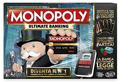 Hasbro Gaming Monopoly Ultimate Banking - Giocco da tavolo, La banca...