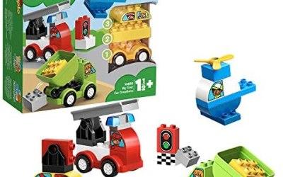 LEGO Duplo My First, i Miei Primi Veicoli Set di Costruzioni per Giocare e…