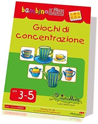 LKB-S12 CreativaMente, Libro Gioco, BLUK Giochi di Concentrazione, Gioca...