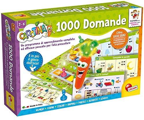 Lisciani Giochi LSI Carotina Penna Parl.1000 Domand 49363, Multicolore,...
