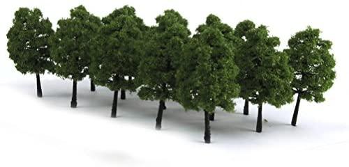 ROSENICE Landscape Model Trees for Decoration 9CM - 20 Pieces
