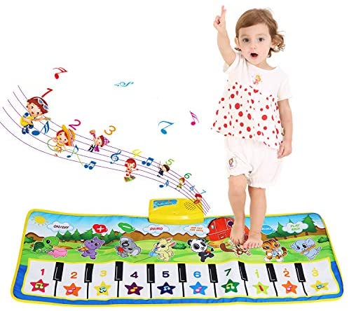 Tappeto Musicale Bambini, BelleStyle Bambino Piano Playmat Strumento...