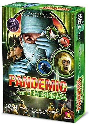 Asmodee- Pandemic Stato di Emergenza Gioco da Tavolo, Colore Verde,...