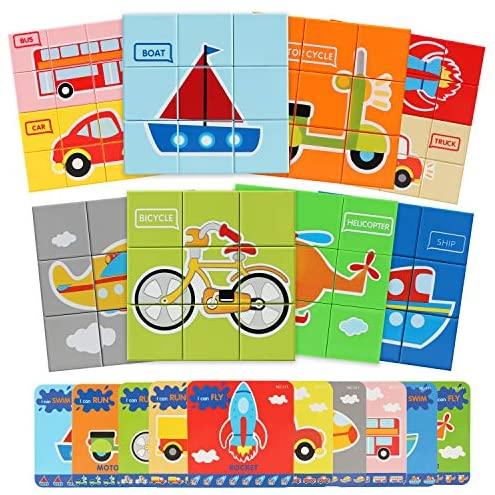 Bammax Giochi Bambini, Traffic Puzzle di plastica Giochi Set di, Gioco...