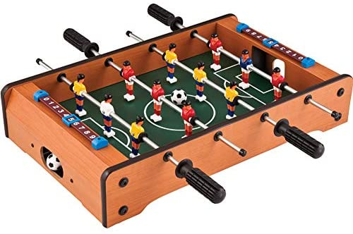 CHAO Tavolo da Calcio Balilla Superiore, Portatile, Compatto, Mini Gioco di...