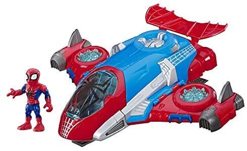 Hasbro Spider-Man - Adventures Quartier generale Spider-Man (Action figure...