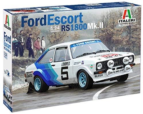 Italeri 3655 - Ford Escort Rs1800 Mk.II modellismo auto Model Kit Scala...
