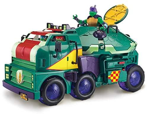 Teenage Mutant Ninja Turtles- Set da Gioco per Tartarughe, Multicolore, On,...