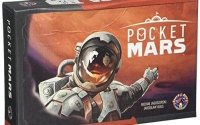 Board & Dice Pocket Mars