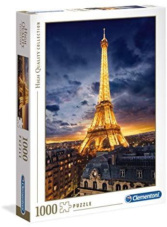Clementoni - 39514 - High Quality Collection Puzzle - Tour Eiffel - 1000...