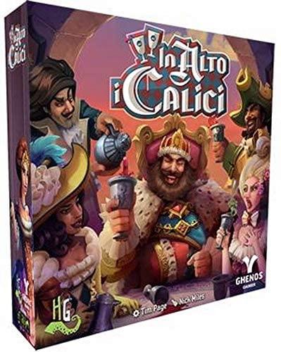 Ghenos Games - GHE058 - in Alto i Calici, Gioco da Tavolo