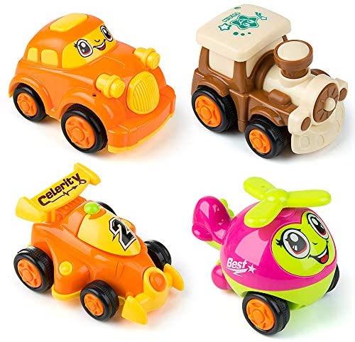 MOOKLIN ROAM 4pcs Auto Giocattolo Macchinine, Wheels Set Macchinine, Auto...