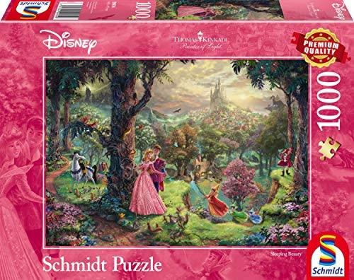 Schmidt Puzzle la Bella Addormentata Thomas Kinkade 1000 Pezzi, 59474