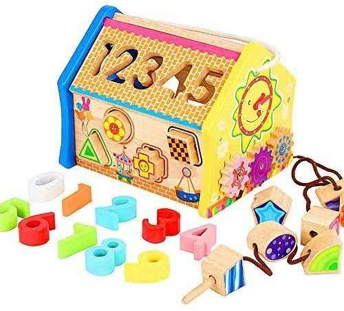 Centro di attività per Bambini, Giochi Bimbi Legno, Giocattoli Educativi,...