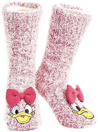 Disney Calze Antiscivolo Invernali Personaggi Mickey Minnie Stitch - Calze...