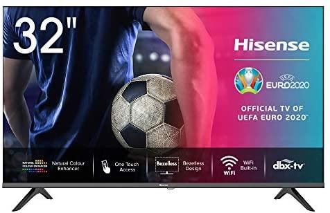 "Hisense 32AE5500F Smart TV LED HD 32"", Bezelless, USB Media Player, Tuner..."