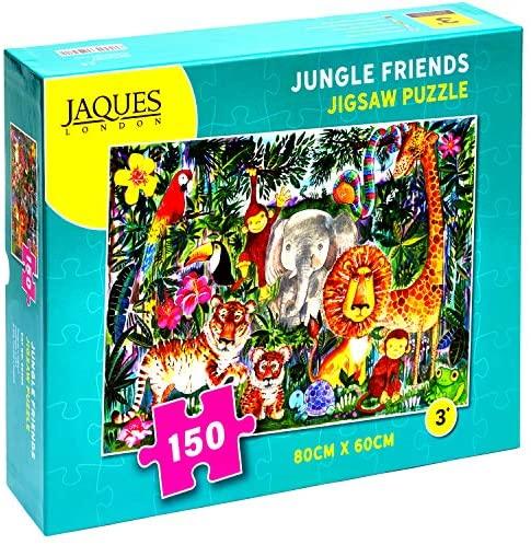 Jaques of London Jungle Friends Puzzle Bambini - Puzzle 150 Pezzi per...