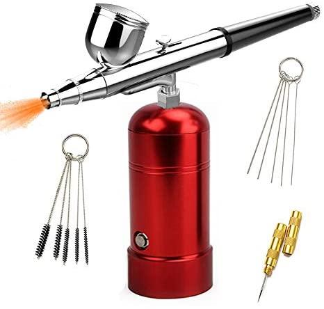 Mini compressore aerografo Professionale USB Charging Kit Set Airbrush...