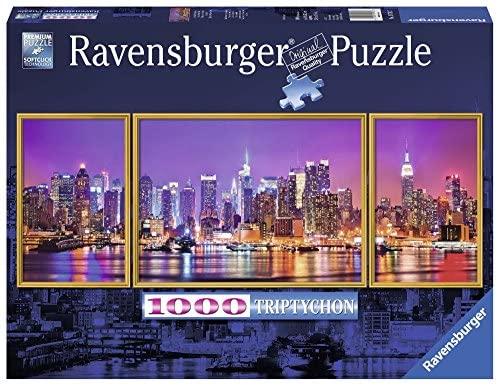 Ravensburger 19792 - Trittico di New York Panorama Puzzle, 1000 Pezzi,...