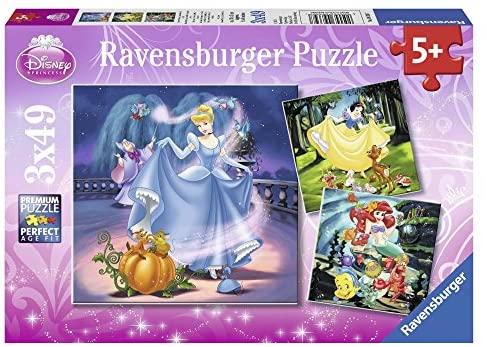 Ravensburger Italy-Le Principesse Disney: Biancaneve, Cenerentola, Arielle...