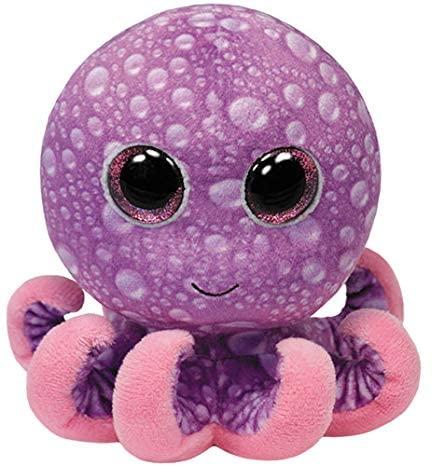 TY 36740 Peluche Octopus Beanie Boos Legs 15 cm