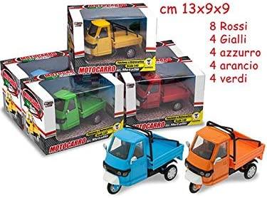 Teorema Giochi VD73039 Motocarro in Metallo, Multicolore