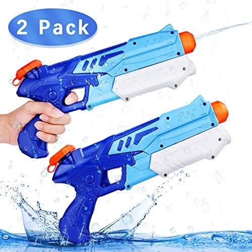 Ucradle 2 Pistole ad Acqua Bambini, Squirt Gun per Bambini e Adulti Estivi...