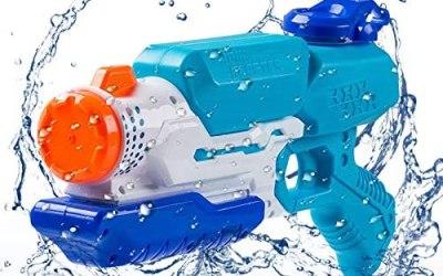 FORMIZON Giocattoli Pistole ad Acqua, capacità 650ml – Distanza del Getto…