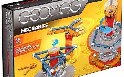 Geomag Mechanics Gioco di Costruzione, Multicolore, 86 pezzi