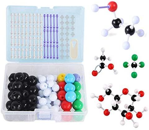 Mengger Modello molecolare set 113Pcs Modellini Molecolarie struttura...