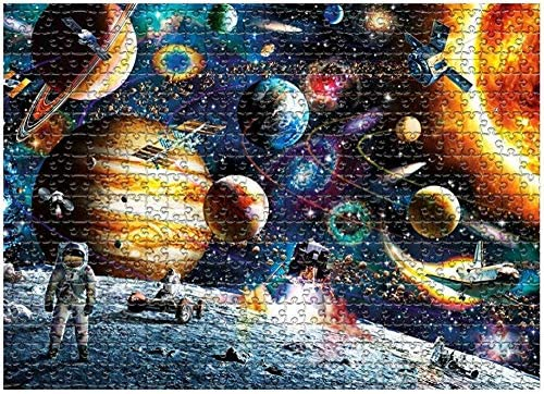 Puzzle Space Traveller Puzzle da 1000 Pezzi per Adulti - Puzzle di Pianeti...