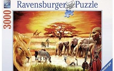 Ravensburger 17056 – Puzzle, Fierezza du Massai, 3000 Pezzi