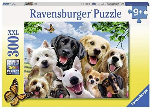 Ravensburger- Selfie Canino Puzzle per Bambini, Multicolore, 300 Pezzi,...