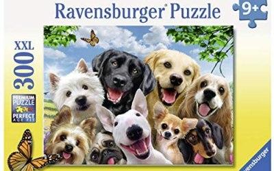 Ravensburger- Selfie Canino Puzzle per Bambini, Multicolore, 300 Pezzi,…