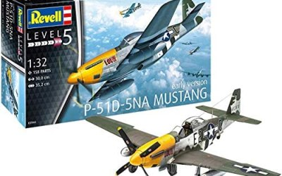 Revell-P-51D-5NA Mustang (Early Version) Kit di Modelli in plastica,…