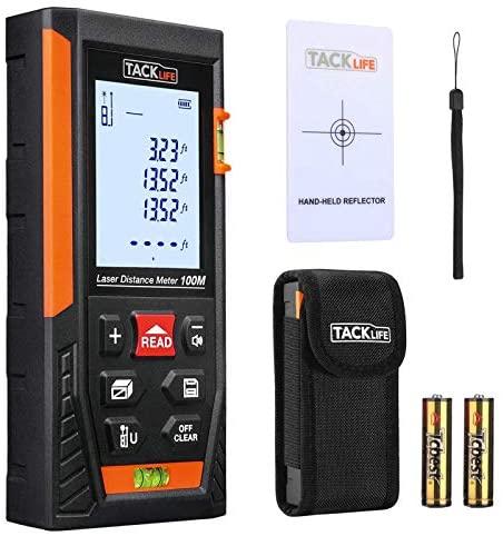 Tacklife HD-100m Telemetro Laser Classico Distanziometro a Infrarossi...