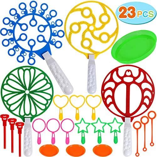 Tacobear 23 Pezzi Bolle di Sapone Bambini Bacchetta Bolle Bubble Maker...