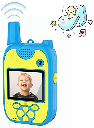 Walkie Talkie Bambini Macchina Fotografica Bambini 1080P Doppia Lente 8...